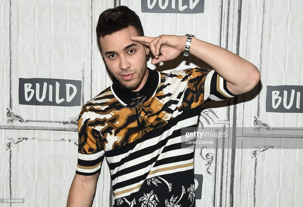 Prince Royce attends the Build Series to discuss National Concert Day at Build Studio on May 2, 2017 in New York City.