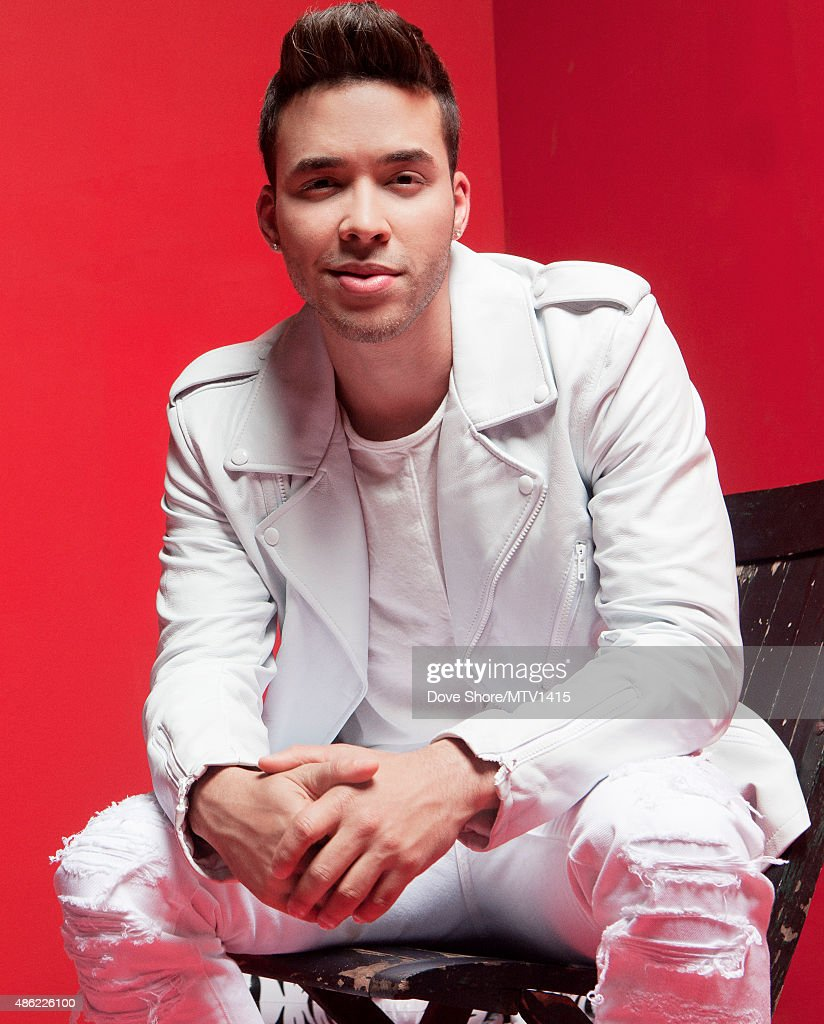 <a gi-track='captionPersonalityLinkClicked' href=/galleries/search?phrase=Prince+Royce&family=editorial&specificpeople=6918529 ng-click='$event.stopPropagation()'>Prince Royce</a> is photographed at the 2015 MTV VMA Awards on August 30, 2015 at the Microsoft Theater in Los Angeles, California.