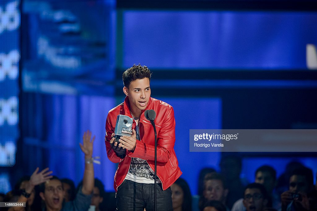 <a gi-track='captionPersonalityLinkClicked' href=/galleries/search?phrase=Prince+Royce&family=editorial&specificpeople=6918529 ng-click='$event.stopPropagation()'>Prince Royce</a> onstage during the Univision's Premios Juventud Awards at Bank United Center on July 19, 2012 in Miami, Florida.