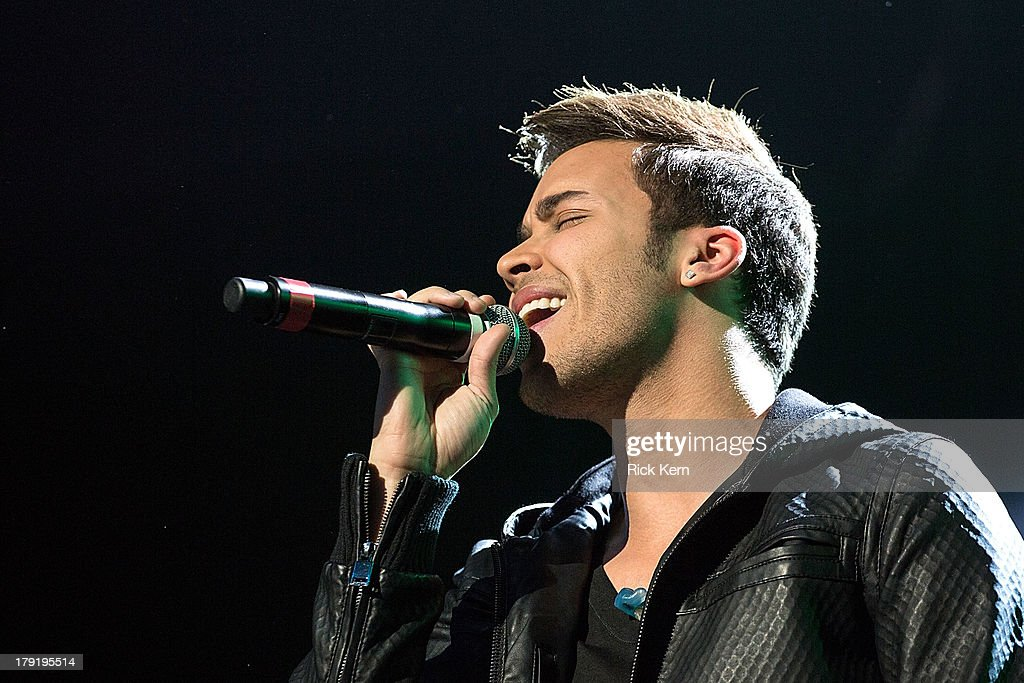 Prince Royce performs at the Festival People en Español Presented by Target at The Alamodome on August 31, 2013 in San Antonio, Texas.