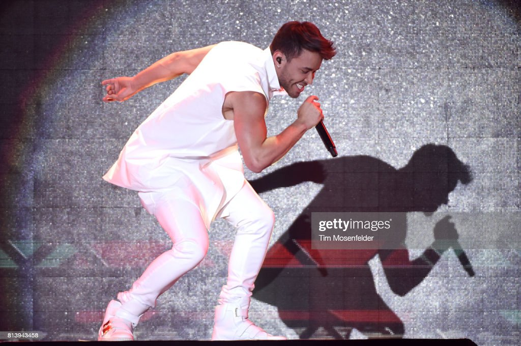 Prince Royce performs during his 'Five Tour' at San Jose State Event Center on July 12, 2017 in San Jose, California.