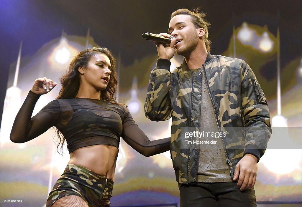 Prince Royce performs during 'The Bad Man Tour' at Sleep Train Arena on July 10 2016 in Wheatland California