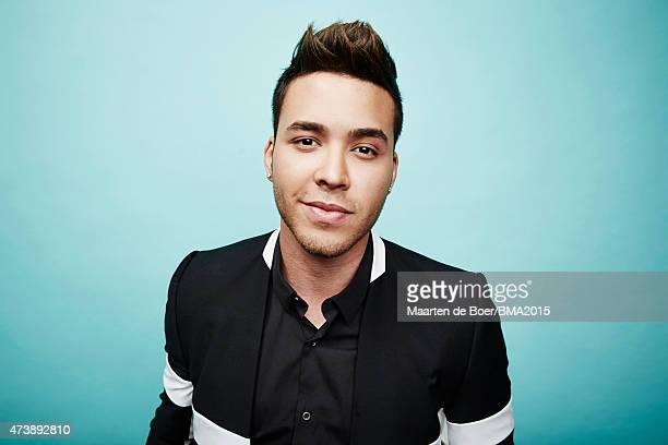 Prince Royce poses for a portrait at the 2015 Billboard Music Awards on May 17 2015 in Las Vegas Nevada