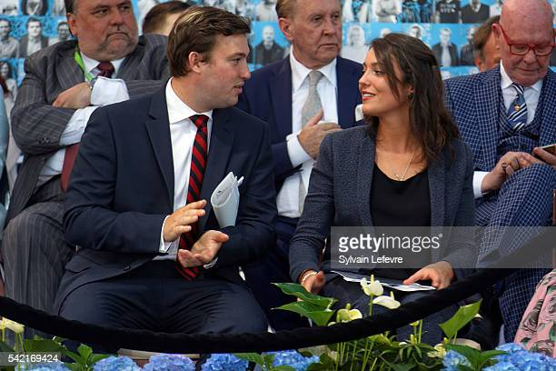 Prince Sebastien and Princess Alexandra of Luxembourg celebrate National Day on June 21 2016 in Luxembourg Luxembourg