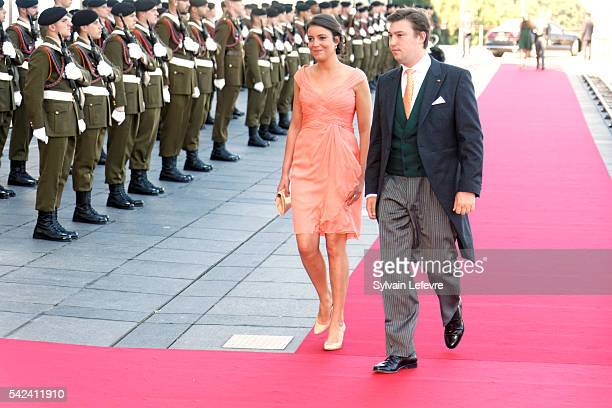 Prince Sebastien and Princess Alexandra of Luxembourg celebrate National Day at Philarmonie on June 22 2016 in Luxembourg Luxembourg