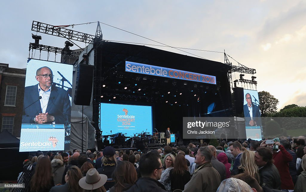 Prince Seeiso of Lesotho speaks on stage during the Sentebale Concert at Kensington Palace on June 28, 2016 in London, England. Sentebale was founded by Prince Harry and Prince Seeiso of Lesotho over ten years ago. It helps the vulnerable and HIV positive children of Lesotho and Botswana.