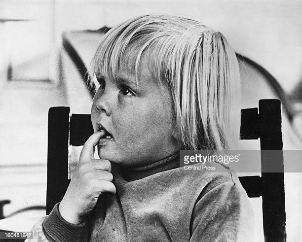 Prince WillemAlexander aged 4 in a photo taken by his father Prince Claus 28th April 1971