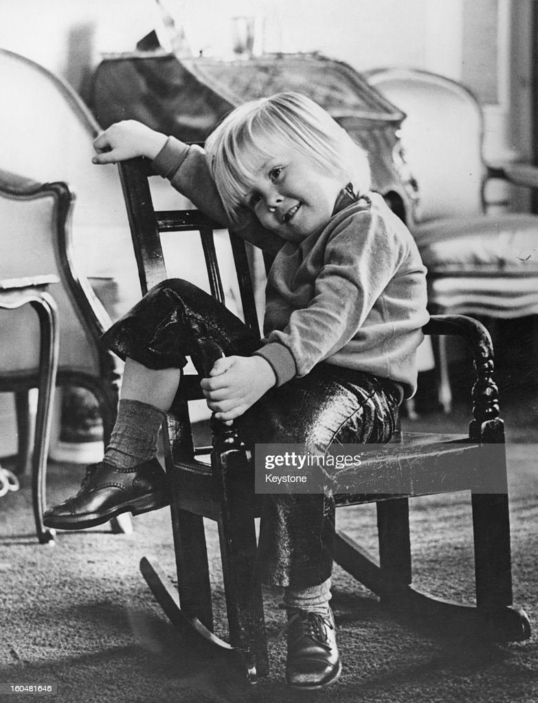 Prince Willem-Alexander, aged nearly 4, in a photo taken by his father Prince Claus, 25th April 1971