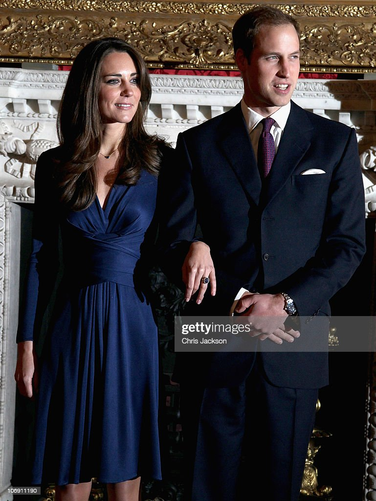 Clarence House Announce The Engagement Of Prince William