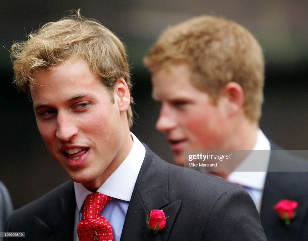 <a gi-track='captionPersonalityLinkClicked' href=/galleries/search?phrase=Prince+William&family=editorial&specificpeople=178205 ng-click='$event.stopPropagation()'>Prince William</a> and <a gi-track='captionPersonalityLinkClicked' href=/galleries/search?phrase=Prince+Harry&family=editorial&specificpeople=178173 ng-click='$event.stopPropagation()'>Prince Harry</a> at the wedding of Lady Tamara, the eldest daughter of The Duke and Duchess of Westminster, and Edward van Cutsem at Chester Cathedral on Saturday November 6, 2004