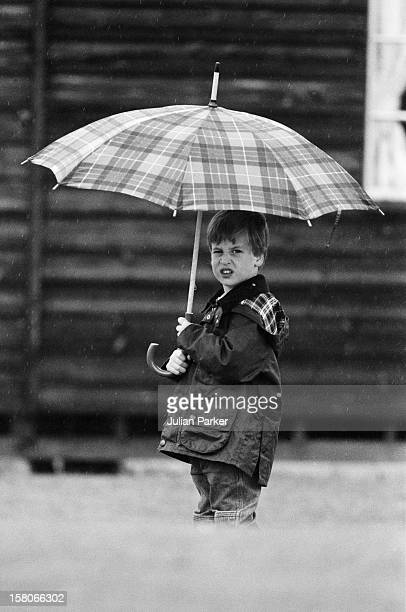 Prince William At Cirencester Park Polo Club June 1987