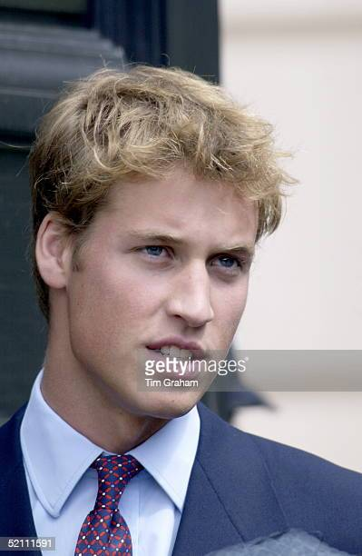 Prince William At Clarence House In London For His Greatgrandmother's Birthday Handsome Portrait
