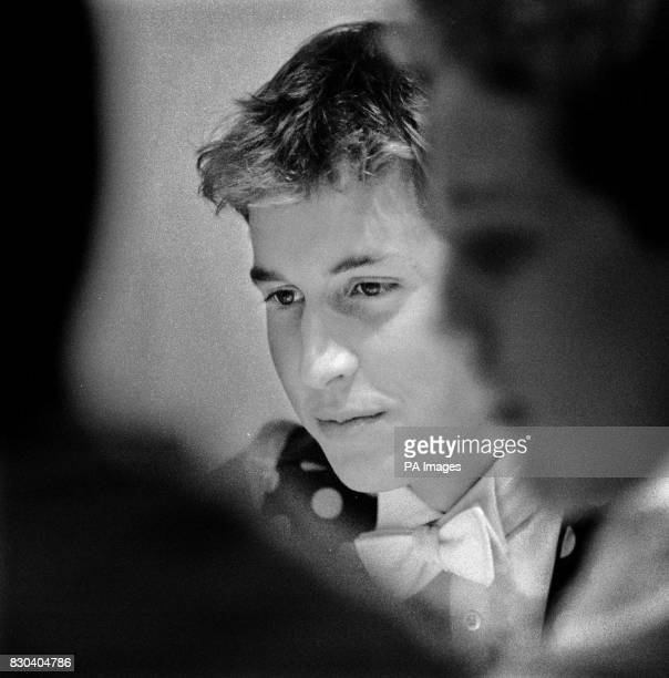 Prince William at Eton where he will be celebrating his 18th birthday on June 21 2000 Photograph Ian Jones Copyright St James's Palace