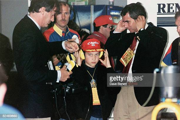 Prince William at the British Grand Prix held at Silverstone race track on July o1 1992 in England