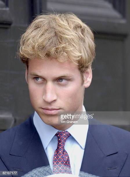 Prince William At The Q Mother's 101st Birthday At Clarence House London
