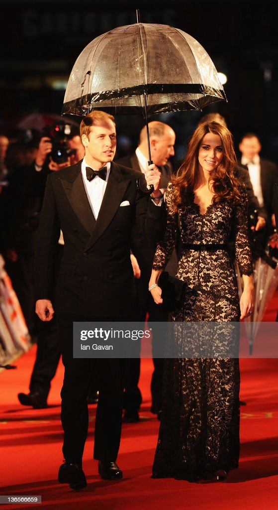 <a gi-track='captionPersonalityLinkClicked' href=/galleries/search?phrase=Prince+William&family=editorial&specificpeople=178205 ng-click='$event.stopPropagation()'>Prince William</a>, Duke of Cambridge and Catherine, Duchess of Cambridge attend the UK premiere of War Horse at the Odeon Leicester Square on January 8, 2012 in London, England.