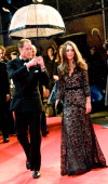 Prince William Duke of Cambridge and Catherine Duchess of Cambridge attends the UK premiere of War Horse at the Odeon Leicester Square on January 8...