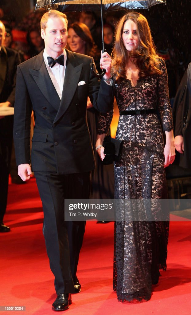 <a gi-track='captionPersonalityLinkClicked' href=/galleries/search?phrase=Prince+William&family=editorial&specificpeople=178205 ng-click='$event.stopPropagation()'>Prince William</a>, Duke of Cambridge and <a gi-track='captionPersonalityLinkClicked' href=/galleries/search?phrase=Catherine+-+Duchess+of+Cambridge&family=editorial&specificpeople=542588 ng-click='$event.stopPropagation()'>Catherine</a>, Duchess of Cambridge attend the UK premiere of War Horse at Odeon Leicester Square on January 8, 2012 in London, England.