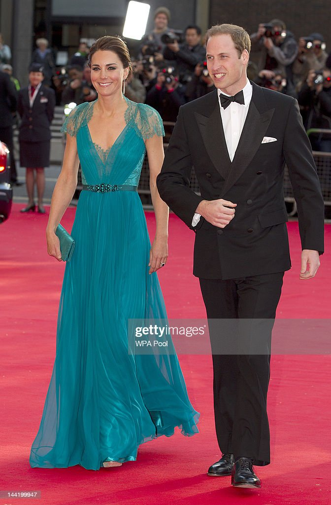 Prince William Duke of Cambridge and Catherine Duchess of Cambridge attend the 'Our Greatest Team Rises BOA Olympic Concert' at the Royal Albert Hall...