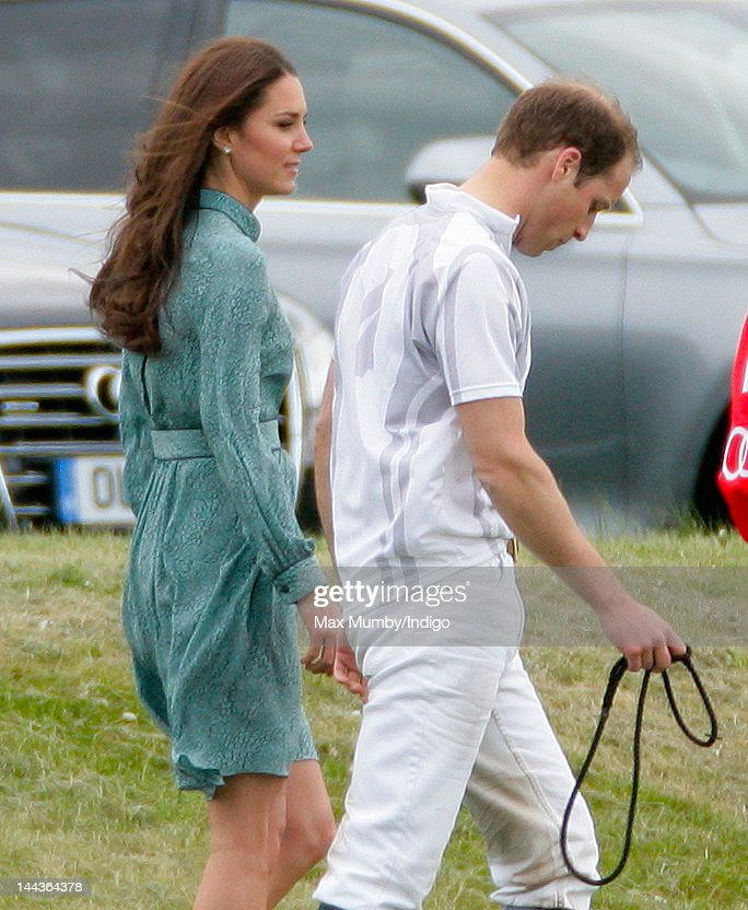Prince William, Duke of Cambridge and <a gi-track='captionPersonalityLinkClicked' href=/galleries/search?phrase=Catherine+-+Duchess+of+Cambridge&family=editorial&specificpeople=542588 ng-click='$event.stopPropagation()'>Catherine</a>, Duchess of Cambridge attend the Audi Polo Challenge charity polo match, in which Prince William, Duke of Cambridge and Prince Harry competed, at Coworth Park Polo Club on May 13, 2012 in Ascot, England.