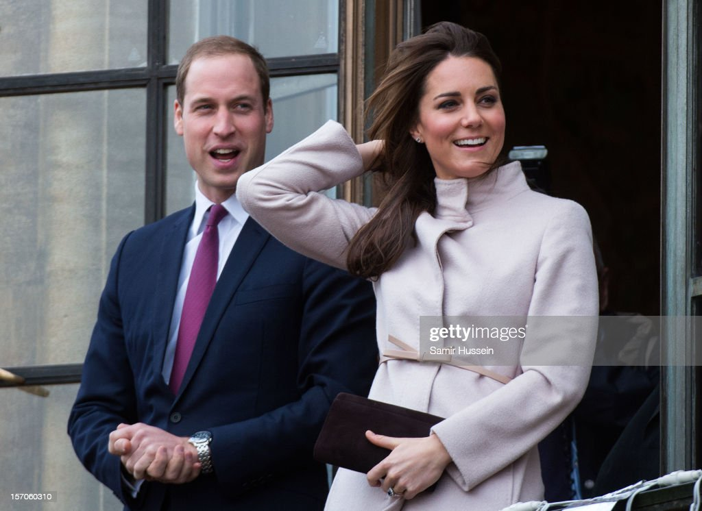 <a gi-track='captionPersonalityLinkClicked' href=/galleries/search?phrase=Prince+William&family=editorial&specificpeople=178205 ng-click='$event.stopPropagation()'>Prince William</a>, Duke of Cambridge and <a gi-track='captionPersonalityLinkClicked' href=/galleries/search?phrase=Catherine+-+Duchess+of+Cambridge&family=editorial&specificpeople=542588 ng-click='$event.stopPropagation()'>Catherine</a>, Duchess of Cambridge make an official visit to the Guildhall on November 28, 2012 in Cambridge, England.