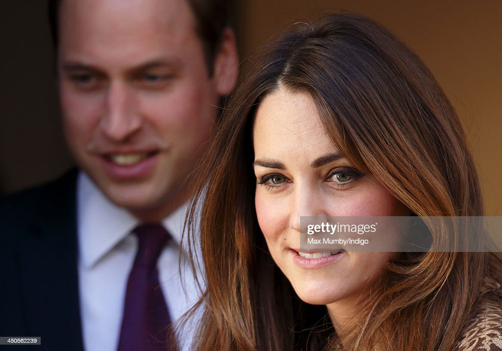 Prince William, Duke of Cambridge and Catherine, Duchess of Cambridge leave after visiting Only Connect and ex-offenders projects on November 19, 2013 in London, England.
