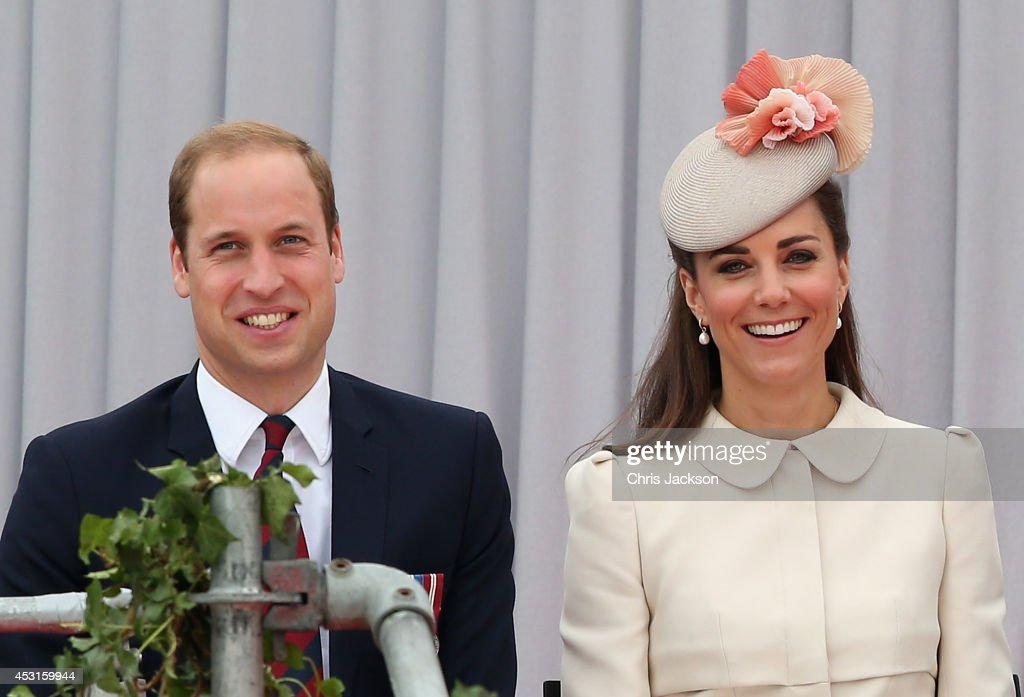 Prince William, Duke of Cambridge and <a gi-track='captionPersonalityLinkClicked' href=/galleries/search?phrase=Catherine+-+Hertiginna+av+Cambridge&family=editorial&specificpeople=542588 ng-click='$event.stopPropagation()'>Catherine</a>, Duchess of Cambridge attend a WW1 100 Years Commomoration Ceremony at Le Memorial Interallie on August 4, 2014 in Liege, Belgium. Monday 4th August marks the 100th Anniversary of Great Britain declaring war on Germany. In 1914 British Prime Minister Herbert Asquith announced at 11pm that Britain was to enter the war after Germany had violated Belgium's neutrality. The First World War or the Great War lasted until 11 November 1918 and is recognised as one of the deadliest historical conflicts with millions of casualties. A series of events commemorating the 100th Anniversary are taking place throughout the day.