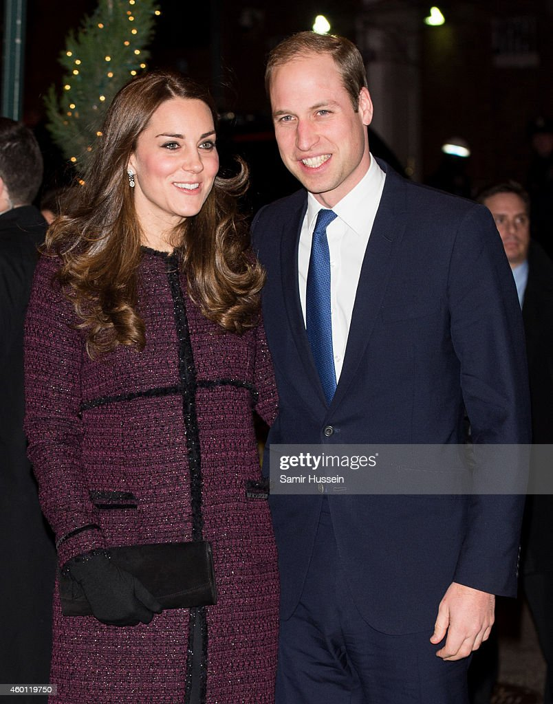 Prince William, Duke of Cambridge and <a gi-track='captionPersonalityLinkClicked' href=/galleries/search?phrase=Catherine+-+Herzogin+von+Cambridge&family=editorial&specificpeople=542588 ng-click='$event.stopPropagation()'>Catherine</a>, Duchess of Cambridge arrive at The Carlyle Hotel, where they will be staying during their official two-day visit to the United States, on December 7, 2014 in New York City.