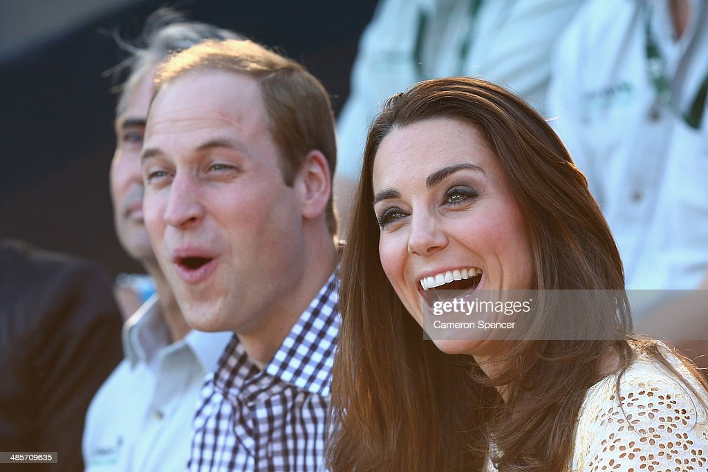 <a gi-track='captionPersonalityLinkClicked' href=/galleries/search?phrase=Prince+William&family=editorial&specificpeople=178205 ng-click='$event.stopPropagation()'>Prince William</a>, Duke of Cambridge and Catherine, Duchess of Cambridge watch the Bird Show at Taronga Zoo on April 20, 2014 in Sydney, Australia. The Duke and Duchess of Cambridge are on a three-week tour of Australia and New Zealand, the first official trip overseas with their son, Prince George of Cambridge.