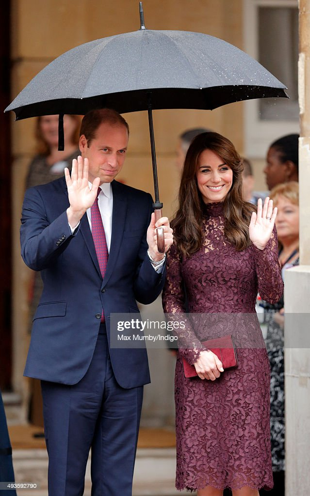 Prince William Duke of Cambridge and Catherine Duchess of Cambridge attend 'Creative Collaborations UK China' along with The President of the Peoples...