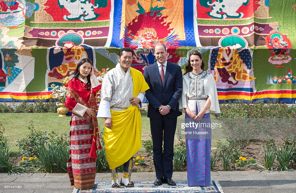 The Duke and Duchess Of Cambridge Visit India and Bhutan - Day 5