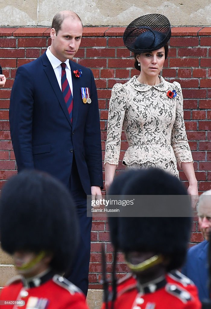 <a gi-track='captionPersonalityLinkClicked' href=/galleries/search?phrase=Prince+William&family=editorial&specificpeople=178205 ng-click='$event.stopPropagation()'>Prince William</a>, Duke of Cambridge and Catherine, Duchess of Cambridge attend the commemoration of the Battle of the Somme at the Commonwealth War Graves Commission Thiepval Memorial on July 1, 2016 in Thiepval, France.