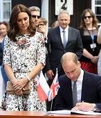The Duke And Duchess Of Cambridge Visit Poland