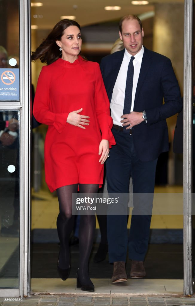 Prince William, Duke of Cambridge and Catherine, Duchess of Cambridge attend the Children's Global Media Summit at the Manchester Central Convention on December 6, 2017 in Manchester, United Kingdom.