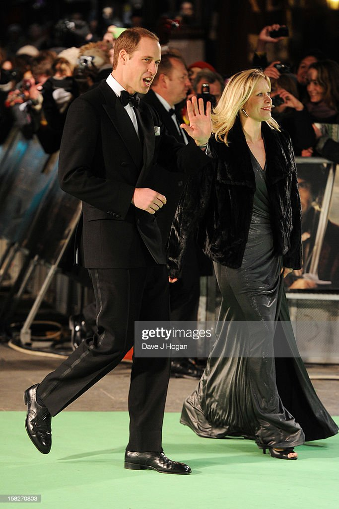 <a gi-track='captionPersonalityLinkClicked' href=/galleries/search?phrase=Prince+William&family=editorial&specificpeople=178205 ng-click='$event.stopPropagation()'>Prince William</a>, Duke of Cambridge and Tessa Street attend a royal film performance of 'The Hobbit: An Unexpected Journey' at The Empire Leicester Square on December 12, 2012 in London, England.