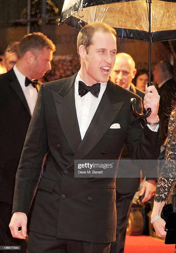 HRH <a gi-track='captionPersonalityLinkClicked' href=/galleries/search?phrase=Prince+William&family=editorial&specificpeople=178205 ng-click='$event.stopPropagation()'>Prince William</a>, Duke of Cambridge arrives at the UK Premiere of 'War Horse' at Odeon Leicester Square on January 8, 2012 in London, England.