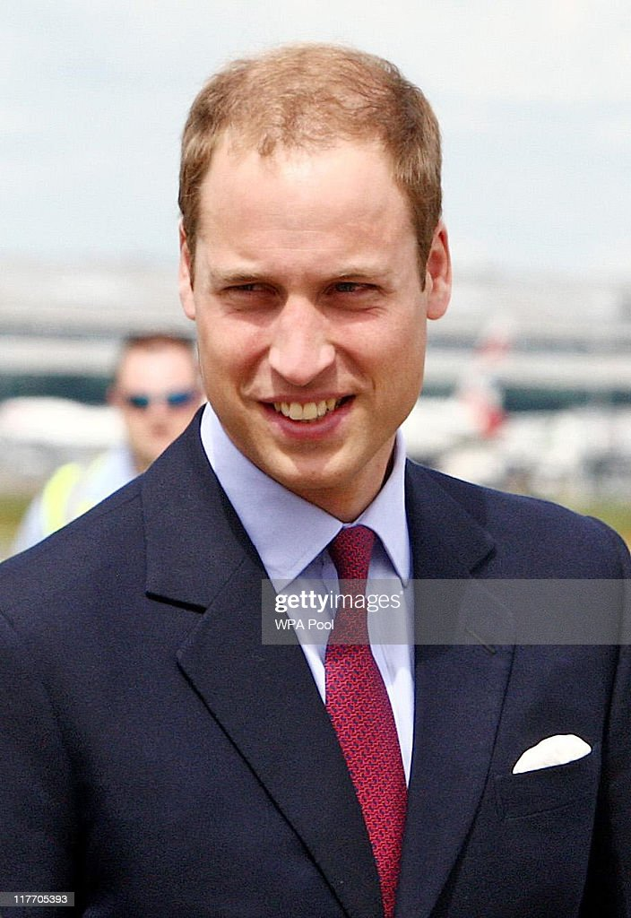 Prince William, Duke of Cambridge arrives to board a plane of the Royal Canadian Air Force at London's Heathrow Airport on June 30, 2011 in London, England. The Duke and Duchess of Cambridge travel to Ottawa for their first overseas tour as a married couple, the 11 day tour will take them to Canada and then on to California.