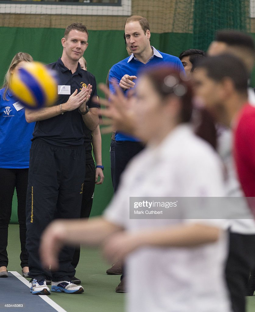 Prince William, Duke of Cambridge attends a Coach Core apprentice training session at Westway Sports Centre on December 4, 2013 in London, England.