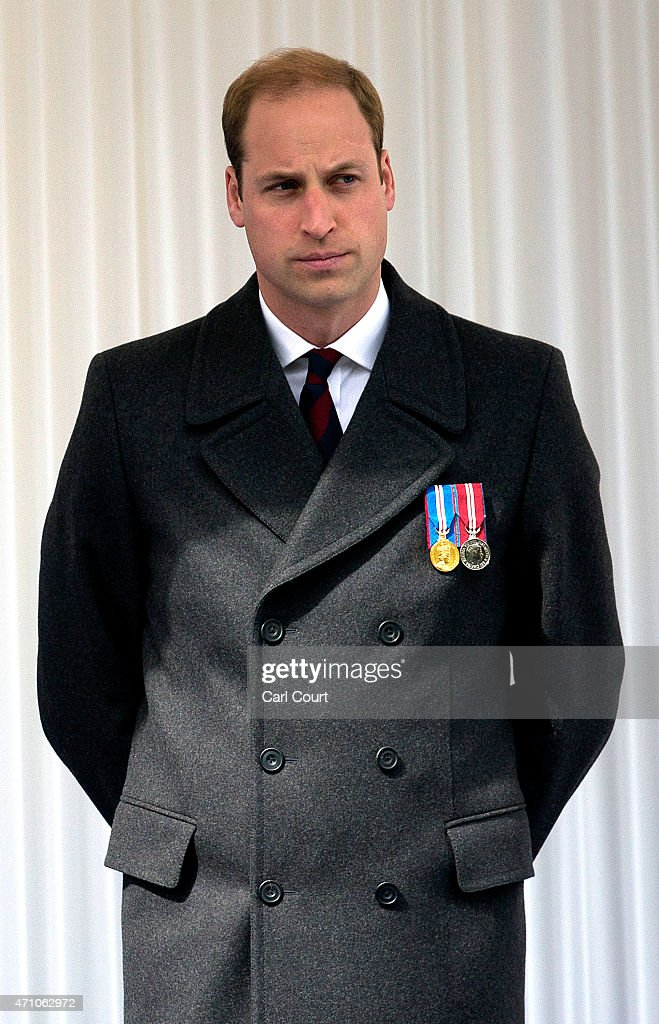 Prince William, Duke of Cambridge, attends a commemorative ceremony marking the centenary of the Gallipoli campaign on April 25, 2015 in London, England. The Gallipoli land campaign, in which a combined Allied force of British, French, Australian, New Zealand and Indian troops sought to occupy the Gallipoli peninsula and the strategic Dardanelles strait during World War I, began on April 25, 1915 against Turkish forces of the Ottoman Empire. The Allies, unable to advance more than a few kilometers, withdrew after eight months. The campaign cost the Allies approximately 45,000 killed and up to 200,000 wounded, the Ottomans approximately 85,000 killed and 160,000 wounded.