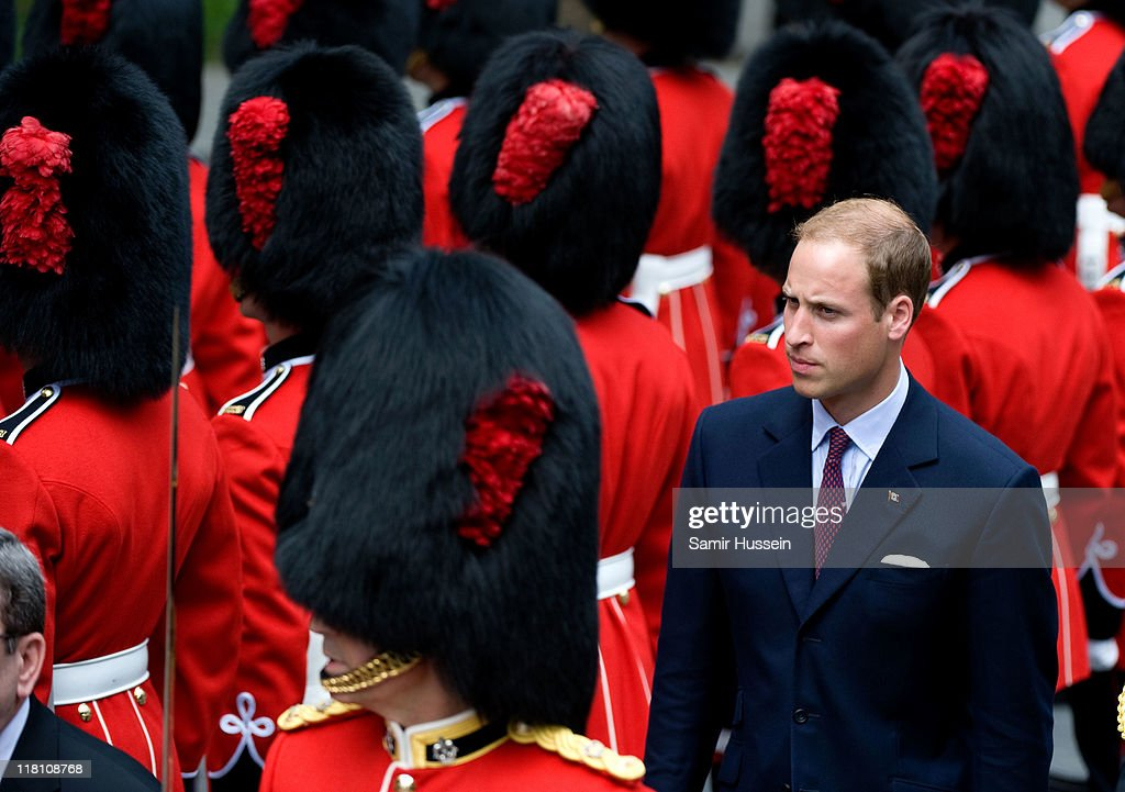 <a gi-track='captionPersonalityLinkClicked' href=/galleries/search?phrase=Prince+William&family=editorial&specificpeople=178205 ng-click='$event.stopPropagation()'>Prince William</a>, Duke of Cambridge attends a Freedom of the City Ceremony outside City Hall on day 4 of the Royal Couple's North American Tour, July 3, 2011 in Quebec, Canada.