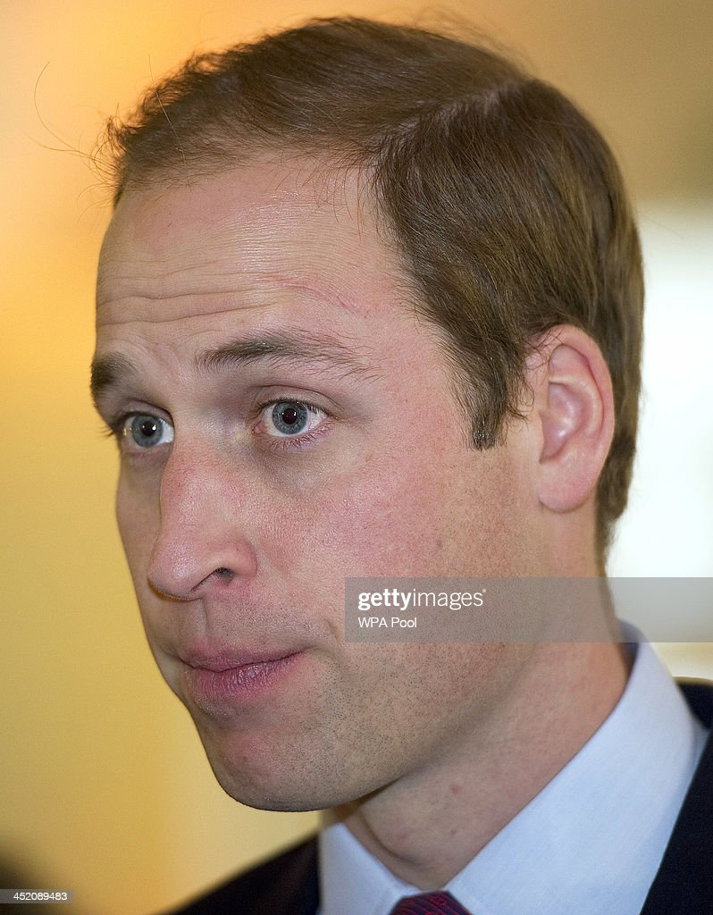 Prince William, Duke of Cambridge attends a meeting of 'United for Wildlife' at the Zoological Society of London on November 26, 2013 in London, England. The Duke of Cambridge is President of United for Wildlife, a collaboration of seven of the largest global Conservation organisations.