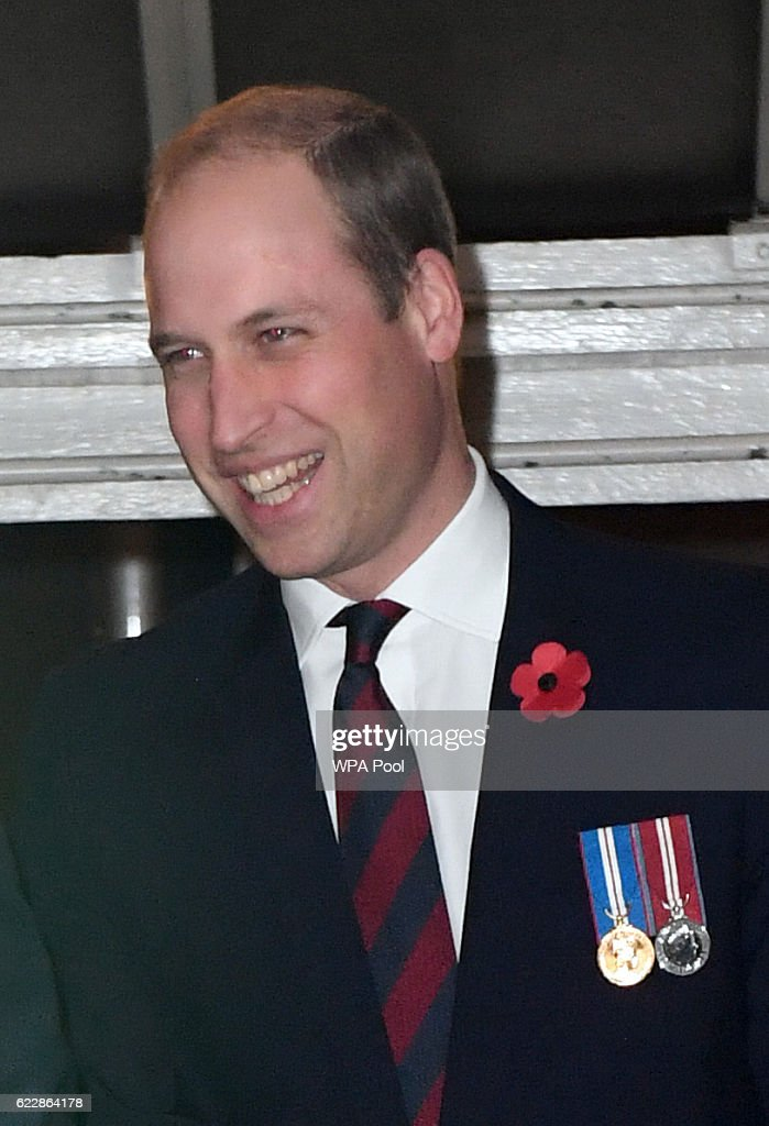 Prince William, Duke of Cambridge attends the annual Royal Festival of Remembrance at the Royal Albert Hall on November 12, 2016 in London, England.