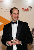 Prince William Duke of Cambridge attends the annual Tusk Trust Conservation awards at Claridge's Hotel on November 24 2015 in London England