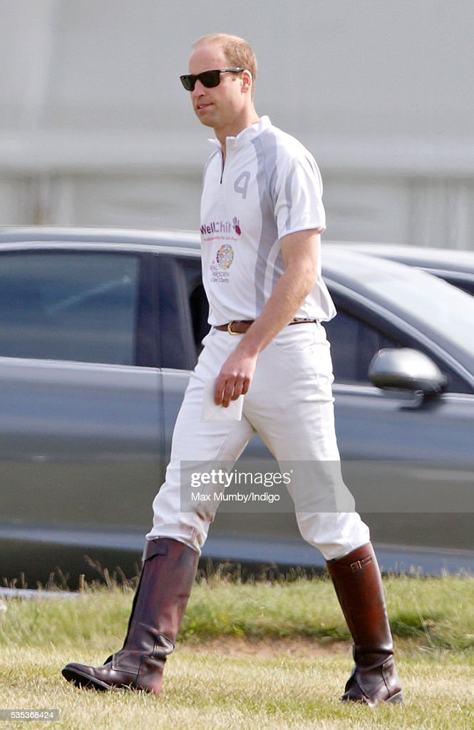 <a gi-track='captionPersonalityLinkClicked' href=/galleries/search?phrase=Prince+William&family=editorial&specificpeople=178205 ng-click='$event.stopPropagation()'>Prince William</a>, Duke of Cambridge attends the Audi Polo Challenge at Coworth Park Polo Club on May 29, 2016 in Ascot, England.