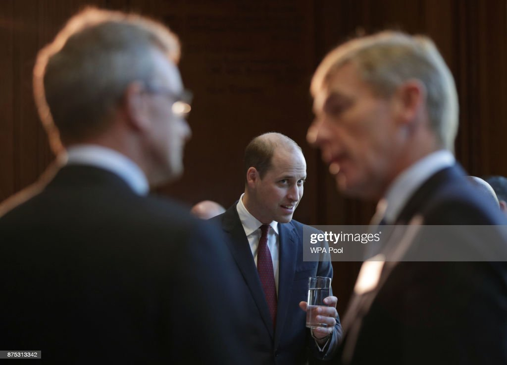 The Duke Of Cambridge Attends LandAid's Pledge150 Campaign Launch