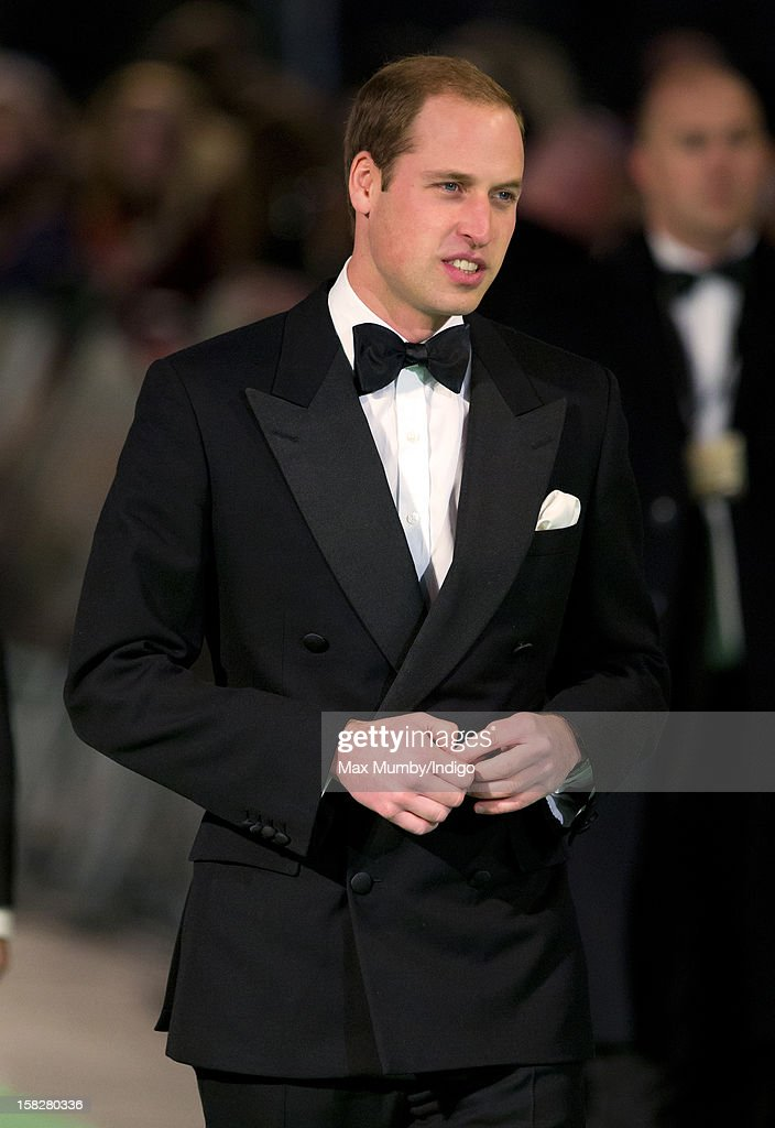 Prince William, Duke of Cambridge attends the Royal Film Performance of 'The Hobbit: An Unexpected Journey' at Odeon Leicester Square on December 12, 2012 in London, England.