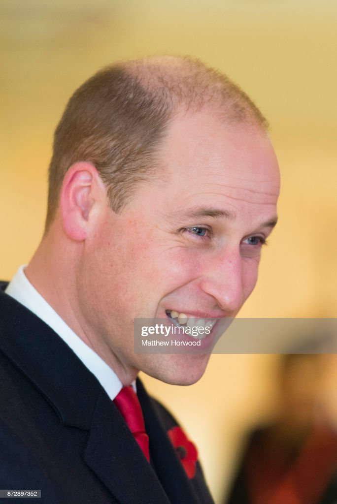 Prince William, Duke of Cambridge, attends the Wales v Australia Autumn International rugby match at the Principality Stadium on November 11, 2017 in Cardiff, Wales. The Duke of Cambridge is a Patron of the Welsh Rugby Union (WRU), taking over the role from Her Majesty The Queen in 2016.