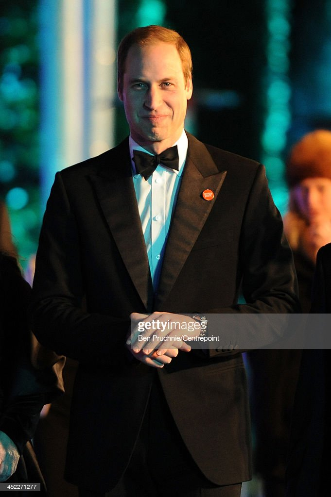 Prince William, Duke of Cambridge attends the Winter Whites Gala In Aid Of Centrepoint on November 26, 2013 in London, England.