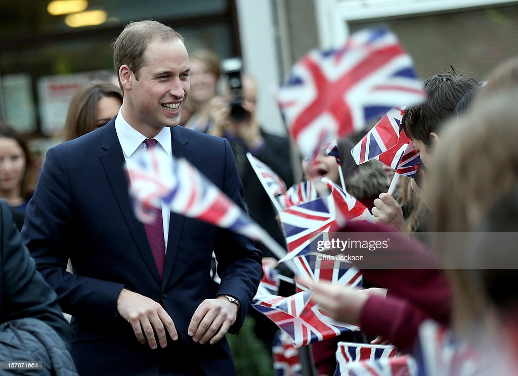 <a gi-track='captionPersonalityLinkClicked' href=/galleries/search?phrase=Prince+William&family=editorial&specificpeople=178205 ng-click='$event.stopPropagation()'>Prince William</a>, Duke of Cambridge is cheered by pupils as he visits Manor School as she pays an official visit to Cambridge with <a gi-track='captionPersonalityLinkClicked' href=/galleries/search?phrase=Prince+William&family=editorial&specificpeople=178205 ng-click='$event.stopPropagation()'>Prince William</a>, Duke of Cambridge on November 28, 2012 in Cambridge, United Kingdom.