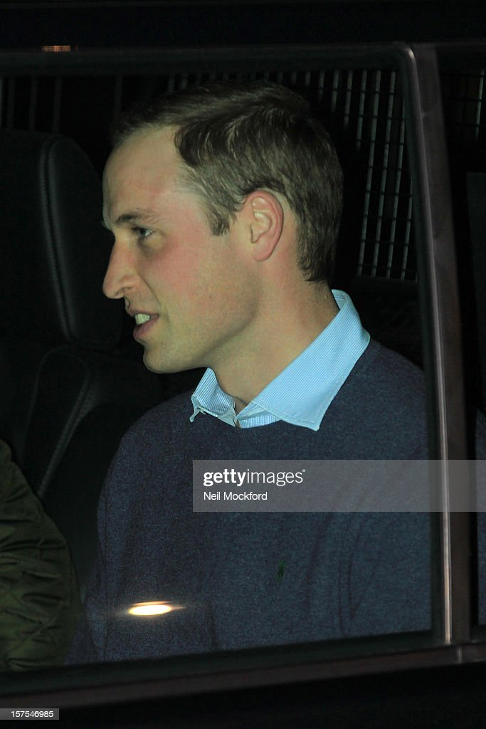 Prince William, Duke of Cambridge leaves the King Edward VII Hospital where his wife Catherine, Duchess of Cambridge is currently undergoing care for pregnancy related issues on December 4, 2012 in London, England.